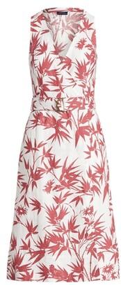Ralph Lauren Floral Belted Wrap Dress