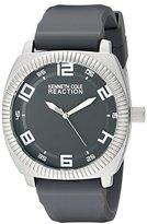 Kenneth Cole Reaction Unisex 10014706 Street Analog Display Japanese Quartz Grey Watch