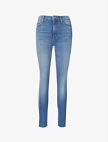 Thumbnail for your product : Mother The Looker skinny high-rise stretch-denim jeans