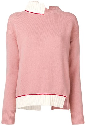 Marni open back jumper