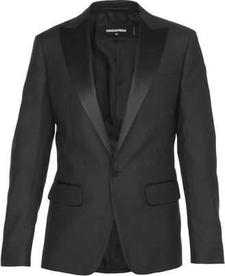 DSQUARED2 Blazer In Wool And Silk