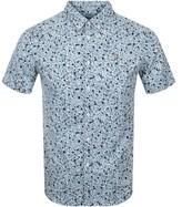 Farah Short Sleeve Babilonia Shirt Blue