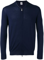 Eleventy zipped sweater - men - Silk/Merino - M