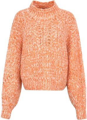 Isabel Marant Jarren Cropped Turtleneck Sweater