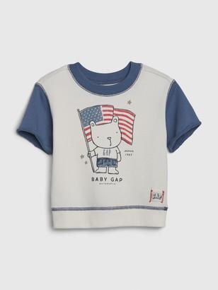 Gap Baby Flag Sweatshirt