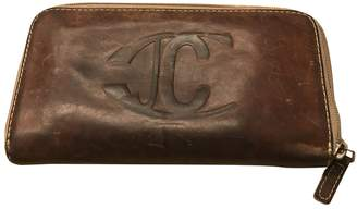Just Cavalli \N Camel Leather Wallets