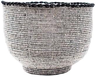 Beaded Bali Bowl - Silver