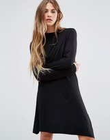 Brave Soul High Neck Skater Dress
