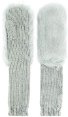 Urban Code Urbancode long knitted mittens