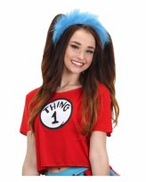 Elope Women's Dr. Seuss Thing 1 & 2 Crop Top Costume Kit