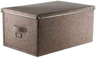 Design Ideas Stockholm Large Fiberboard Storage Box
