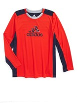 adidas Boy's Scrimmage Climacool T-Shirt