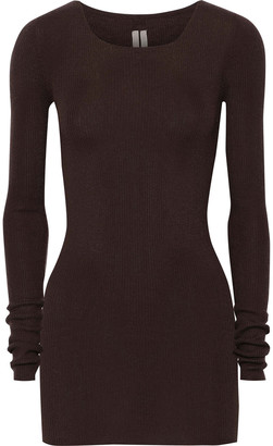 Rick Owens Ribbed Cashmere Top