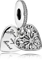Pandora Heart Of Winter Pendant Charm