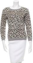 Diane von Furstenberg Wool Long Sleeve Sweater