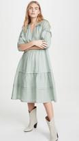 Sea Lucy Long Sleeve Midi Dress