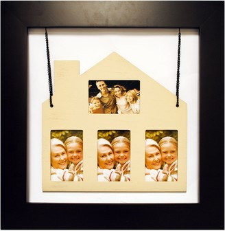 New View Gifts & Accessories Hanging House 4-Opening Photo Collage