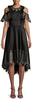 Temperley London Amour Cold-Shoulder Dress