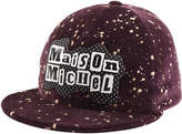 Maison Michel Printed Cotton Baseball Cap