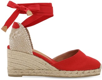 Castaner 60mm Carina Canvas Espadrille Wedges