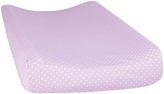 Trend Lab Lilac Orchid Bloom Dot Changing Pad Cover