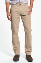 Paige Men's Normandie Slim Straight Leg Twill Pants