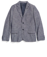 Nordstrom Chambray Blazer (Little Boys & Big Boys)