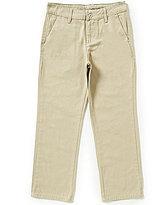 Calvin Klein Big Boys 8-20 Flat-Front Twill Pants