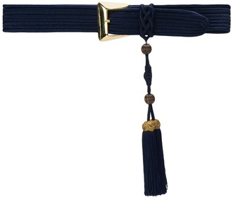Yves Saint Laurent Pre Owned Hanging Tassel Belt