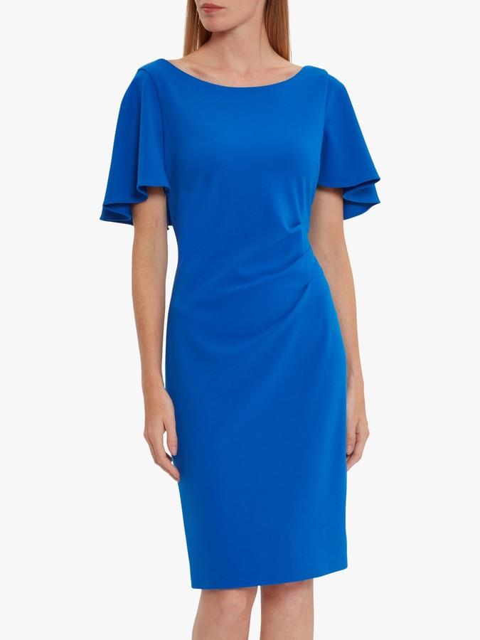 Gina Bacconi Chana Cape Backed Dress