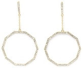 Vince Camuto Goldtone Geo Drop Earrings