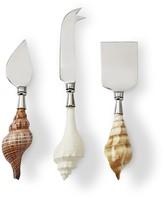 Williams-Sonoma Williams Sonoma AERIN Seashell Cheese Knives, Set of 3