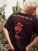 17ss Snake Printing T-shirts(black)