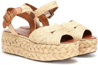 Clergerie Aude raffia sandals