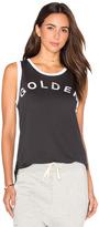 Sundry Light Jersey Golden Ringer Muscle Tank