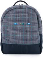 Familiar houndstooth backpack