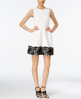 Calvin Klein Lace Fit & Flare Dress