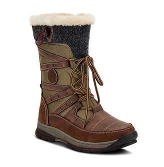 Spring Step Womens Brurr Water Resistant Snow Boots Flat Heel