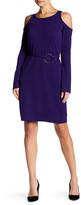 Yoana Baraschi City of Lights Cold Shoulder Mini Dress