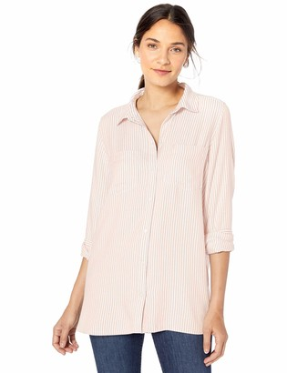 Goodthreads Modal Twill Two-pocket Relaxed Shirt Button