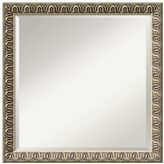 Argento Wave Beveled Wall Mirror