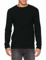 Jack /& Jones Mens Jcopike Knit Crew Neck Sweater