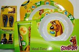 Scooby-Doo 5 Piece KCARE Dining Set ~ Plate, Bowl, Cup, Fork, Spoon (Scooby Fun!)