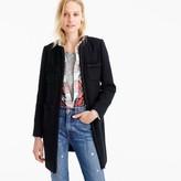 J.Crew Lady coat with braided trim