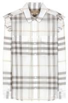 Burberry Elm Plaid Cotton Shirt