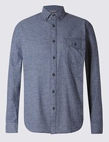 Big & Tall Pure Cotton Long Sleeve Checked Shirt