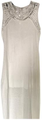 Maje Spring Summer 2019 Ecru Linen Dresses