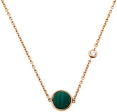 Thumbnail for your product : Piaget Possession Malachite Diamond 18K Rose Gold Necklace