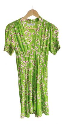 Faithfull The Brand Green Synthetic Dresses