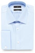 J By Jasper Conran Designer Light Blue Diagonal Striped Shirt